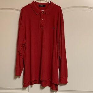 Polo Ralph Lauren Spice Long Sleeve Tall Shirt 3XB